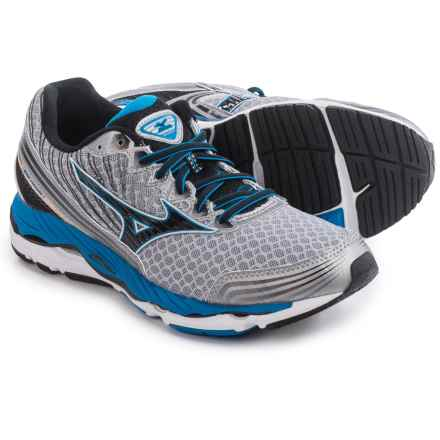Mizuno Wave Paradox 2 Running Shoes (For Men) in Alloy/Black - Closeouts