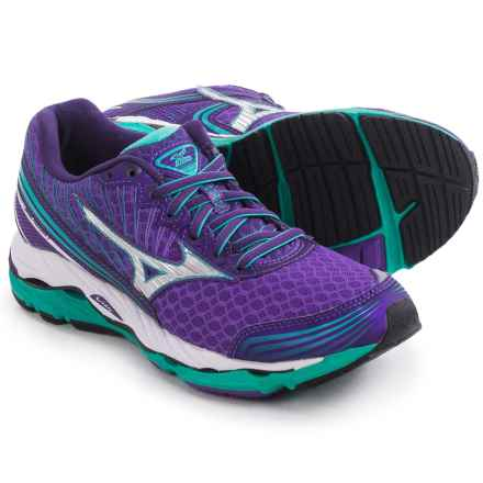 Mizuno Wave Paradox 2 Running Shoes (For Women) in Royal Purple/Silver - Closeouts