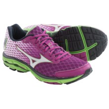 Mizuno Wave Rider 18 Running Shoes (For Women) in Wild Aster/White - Closeouts