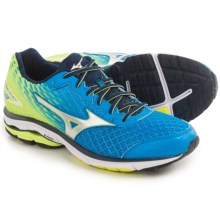 Mizuno Wave Rider 19 Running Shoes (For Men) in Dude Blue/Silver - Closeouts