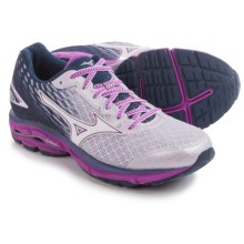Mizuno Wave Rider 19 Running Shoes (For Women) in Lilac Marble/White - Closeouts