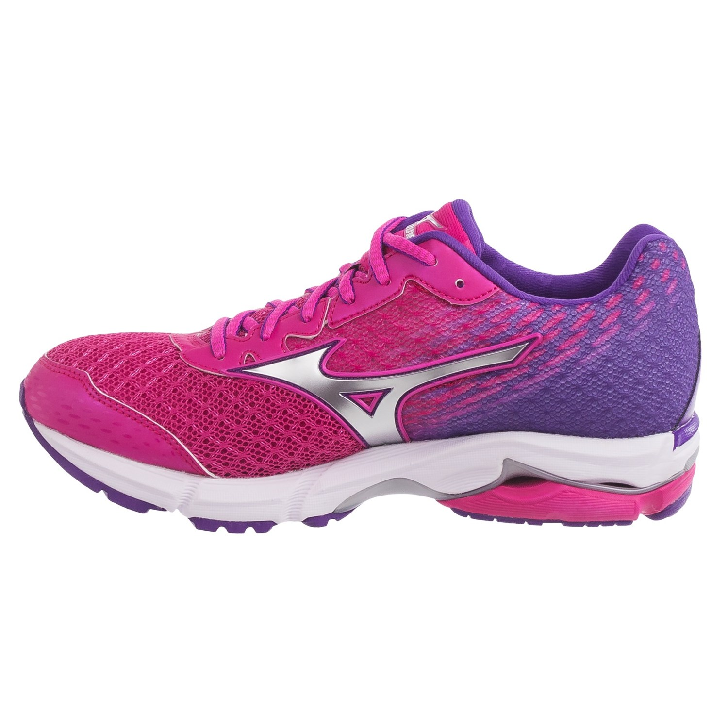 mizuno wave rider 19 running shoes for women save 59. Black Bedroom Furniture Sets. Home Design Ideas