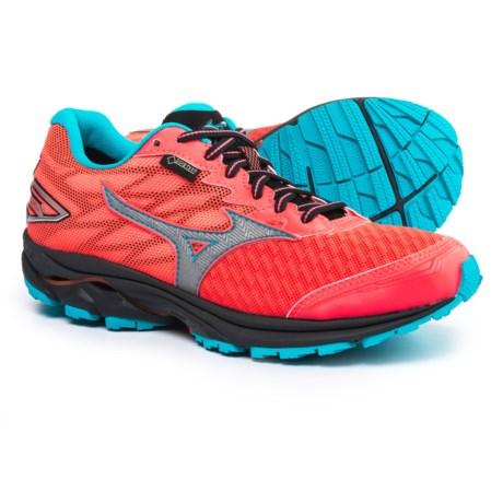 Mizuno Wave Rider 20 Gore-Tex® Running Shoes - Waterproof (For Women) in Raspberry/Capri