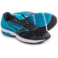 Mizuno Wave Sayonara 3 Running Shoes (For Men) in Black/Atomic Blue - Closeouts