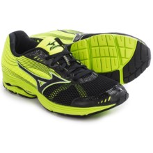 Mizuno Wave Sayonara 3 Running Shoes (For Men) in Black/Neon Yellow - Closeouts