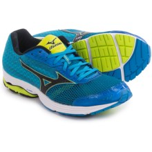 Mizuno Wave Sayonara 3 Running Shoes (For Men) in Electric Blue Lemonade/Black - Closeouts