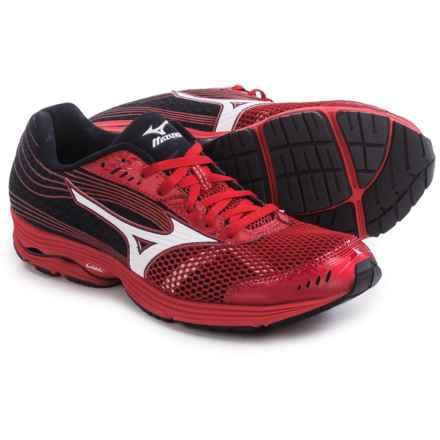 Mizuno Wave Sayonara 3 Running Shoes (For Men) in Shin Red/White - Closeouts