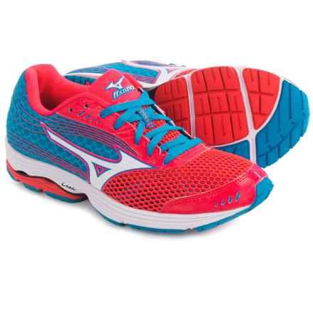 Mizuno Wave Sayonara 3 Running Shoes (For Women) in Pink/White - Closeouts