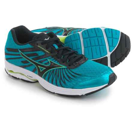 Mizuno Wave Sayonara 4 Running Shoes (For Men) in Atomic Blue/Black - Closeouts