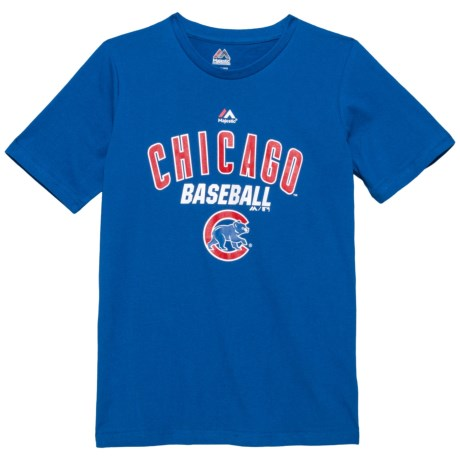 MLB All of Destiny Cubs T-Shirt - Short Sleeve (For Big Boys) in Royal