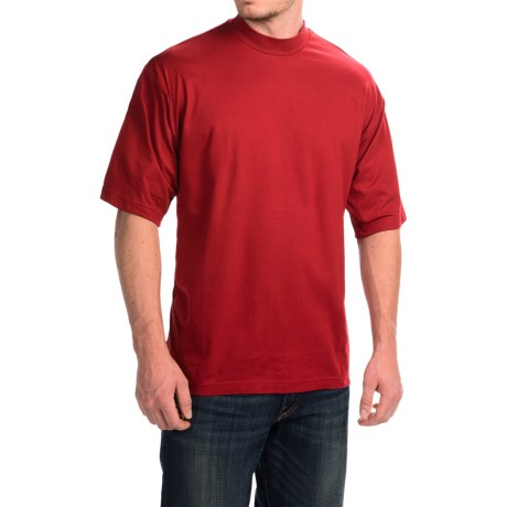 Light weight for exceptiona comfort Mock neck designed to ensure a perfect fit Hand looped mock neck, band and cuffs Ribbed knit waist and cuffs 75% cotton and 25% microfiber Machine wash.
