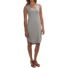 Modal Blend Tank Dress - Sleeveless (For Women) in Grey - 2nds