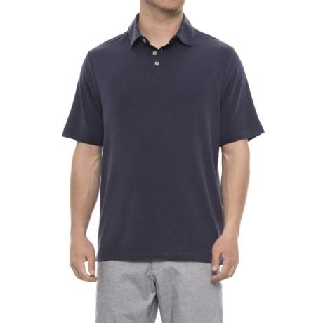 Modal Polo Shirt - Short Sleeve (For Men)