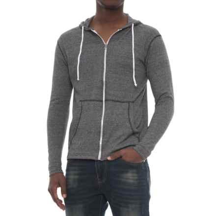 Modern Culture Eli Hoodie - Full Zip (For Men) in Black - Closeouts