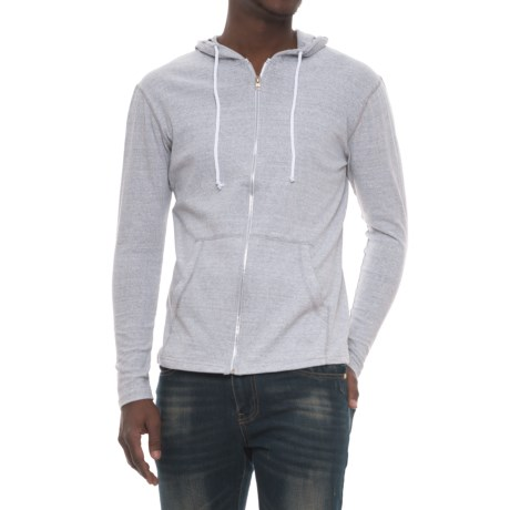 Modern Culture Eli Hoodie - Full Zip (For Men) in Grey