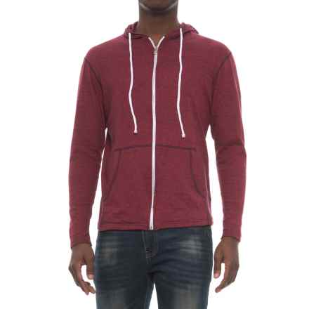 Modern Culture Eli Hoodie - Full Zip (For Men) in Navyred - Closeouts