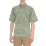Mojo Sportswear Back Country Big Plaid Technical Shirt - UPF 30, Short Sleeve (For Men)