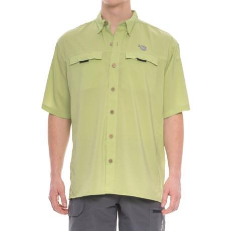 Mojo Sportswear Mr. Big Vented Shirt - UPF 30, Short Sleeve (For Men) in Mint