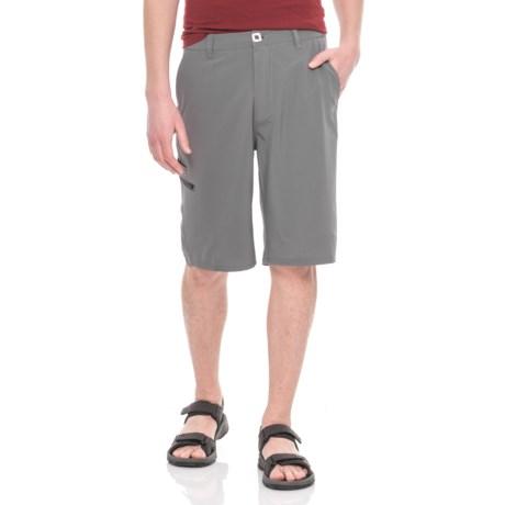 Mojo Sportswear Stretch Fit Shorts (For Men) in Charcoal