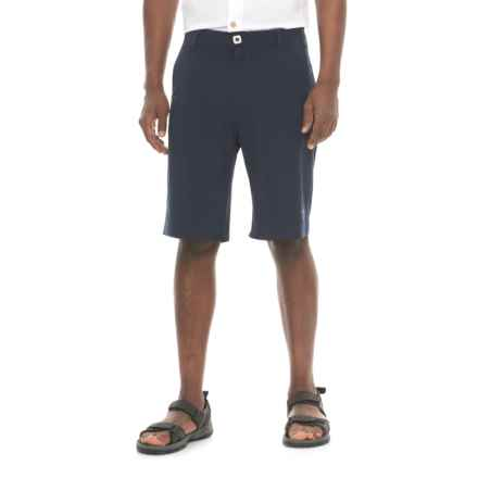 Mojo Sportswear Stretch Fit Shorts (For Men) in Navy - Closeouts