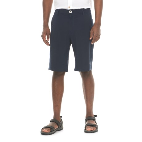 Mojo Sportswear Stretch Fit Shorts (For Men) in Navy