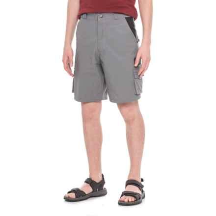 Mojo Sportswear Super Tec Technical Fishing Shorts (For Men) in Charcoal - Closeouts