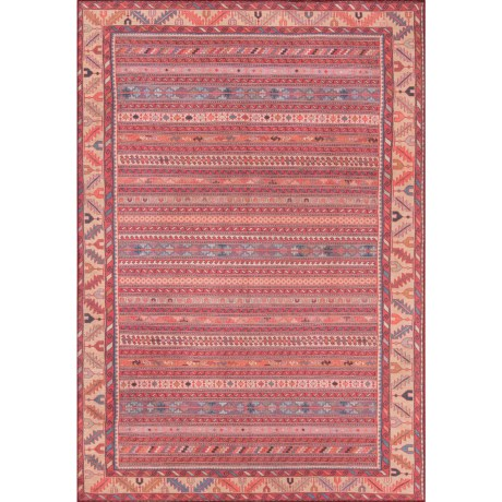 "Momeni Afshar Vintage Stripe Area Rug - 5'x7'6"" in Multi"