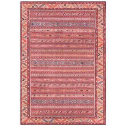 "Momeni Afshar Vintage Stripe Floor Runner - 2'3""x7'6"" in Multi - Closeouts"