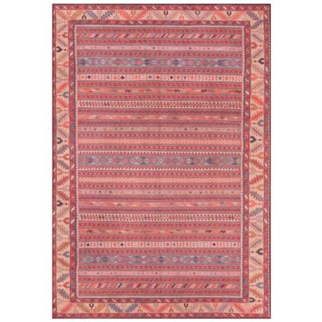 """Momeni Afshar Vintage Stripe Floor Runner - 2'3""""x7'6"""" in Multi"""