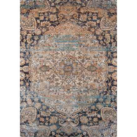 Momeni Amelia Area Rug 5 3 X7 6 In Navy Circle