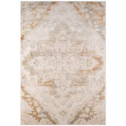 "Momeni Amelia Vintage Look Area Rug - 5'3""x7'6"" in Beige - Closeouts"