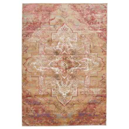 "Momeni Amelia Vintage Look Area Rug - 5'3""x7'6"" in Rose - Closeouts"