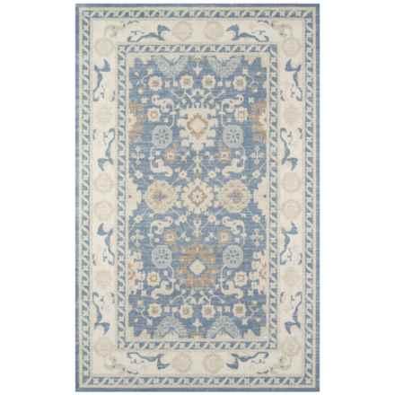 "Momeni Anatolia Bohemian Area Rug - 7'9""x9'10"", Wool-Nylon in Light Blue - Closeouts"