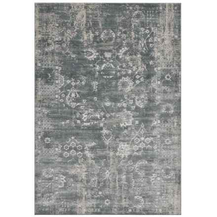"Momeni Area Rug - 5x7'6"" in Green - Closeouts"