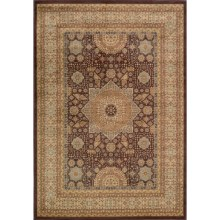 "Momeni Belmont Collection Medallion Area Rug - 5'3""x7'6"" in Brown - Closeouts"