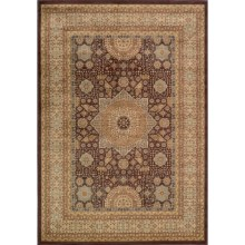 "Momeni Belmont Collection Medallion Area Rug - 9'3""x12'6"" in Brown - Closeouts"