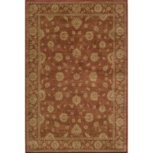 "Momeni Belmont Collection Persian-Inspired Area Rug - 5'3""x7'6"" in Burgundy - Closeouts"