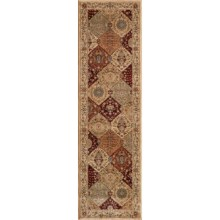 "Momeni Belmont Collection Power Loomed Floor Runner - 2'3""x7'6"" in Burgundy-Be 01 - Closeouts"