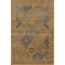 Momeni Belmont Power-Loomed Rug - 2x3', Textured Finish in Blue-Be 01 - Closeouts
