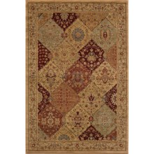Momeni Belmont Power-Loomed Rug - 2x3', Textured Finish in Burgundy-Be 01 - Closeouts