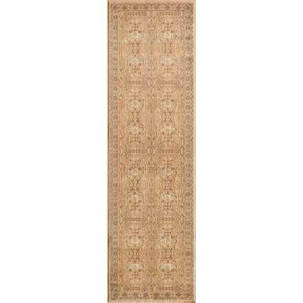 """Momeni Belmont Traditional Floor Runner - 2'3""""x7'6"""" in Ivory - Closeouts"""