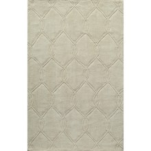 "Momeni Bliss Chain Link Area Rug - 5'x7'6"" in Ivory - Closeouts"