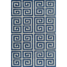 Momeni Bliss Greek Key Area Rug - 8x10' in Denim - Closeouts