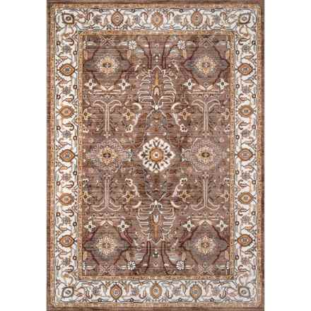 Momeni Brighton Traditional Area Rug - 5x8' in Brown - Closeouts