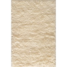 Momeni Comfort Shag Area Rug - 5x7' in Ivory - Closeouts