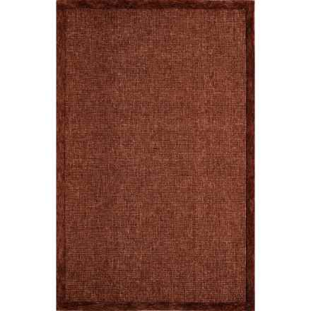 Momeni Delhi Collection Area Rug - 8x10', Hand-Tufted Wool in Rust - Closeouts
