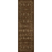 "Momeni Encore Collection Floor Runner - 2'3""x7'8"" in Chocolate - Closeouts"