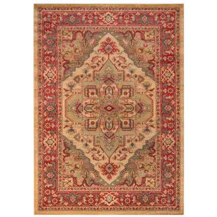 "Momeni Ghazni Collection Area Rug - 7'10""x9'10"" in Beige Diamond - Closeouts"