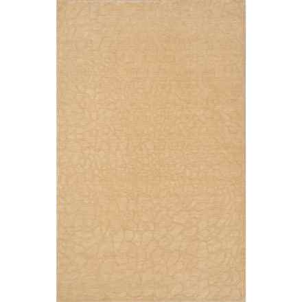 Momeni Gramercy Accent Rug - Hand-Loomed Wool, 2x3' in Beige - Closeouts
