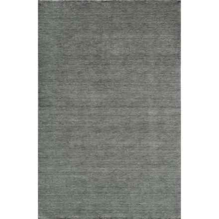 Momeni Gramercy Area Rug - 5x8', Handwoven Wool in Lagoon - Closeouts